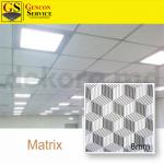 FAVORI – MATRIX GRI 003- 600X600X8MM (10BUC)PLACA GIPS LAMINATA PVC PT TAVAN 80 lei